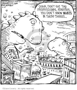 Comic Strip Dave Coverly  Speed Bump 2006-03-20 food additive